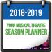 TRW's 2018-2019 Season Planner
