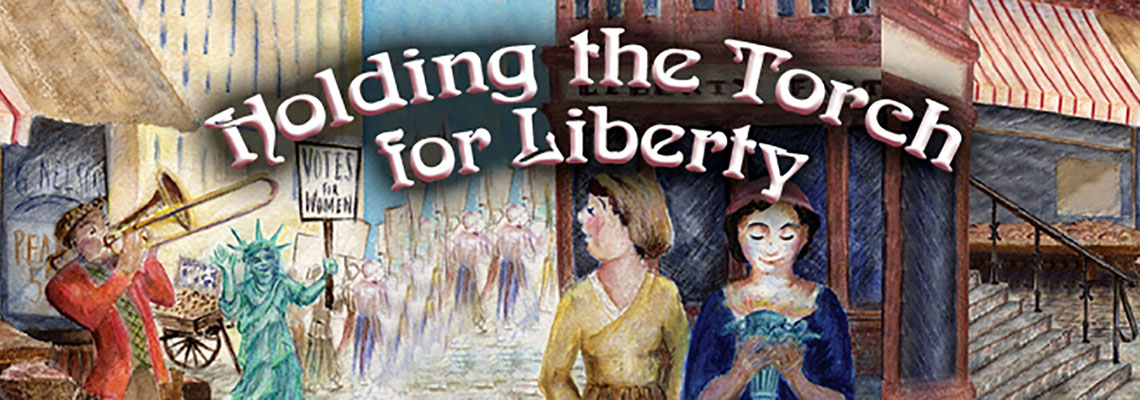 Holding the Torch for Liberty